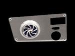 73-83, chevrolet, gmc, left dash, turbine, turbo, vent, polished, empire 7383lpat