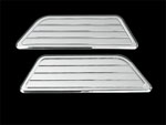 99-07 chevrolet classic, side step plates, with ball milled lines, empire 9610p