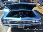 Classic custom car Chevrolet Wagon Ram Jet
