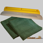 california water blade, microfiber detailing towels, water blade combo, dry my car