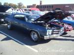 Classic custom car chevelle