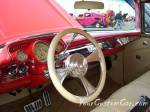 Classic custom car 56 chevrolet interior