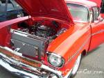Classic custom car 56 chevy