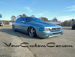 custom impala ss, 2 inch cowl hood, fiber glass front , custom headlights, Stillen bumper cover