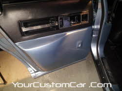 custom impala ss door panel, fiber glass door panel, 96 impala