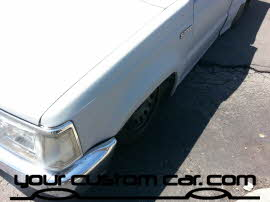 custom B2000, friends in low places, custom car show, custom truck show