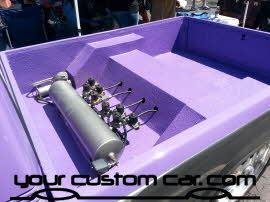 custom minitruck at friends in low places, custom car show, custom truck show