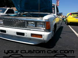 custom 720 on air, friends in low places, car show