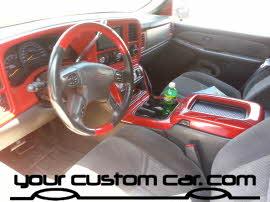 custom silverado interior, friends in low places, car show