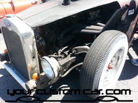 rat rod enhine, friends in low places, car show