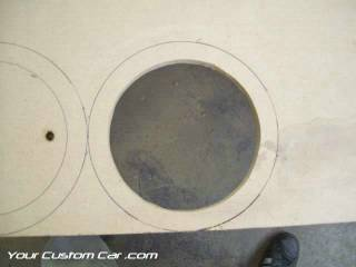 custom door panels speakers