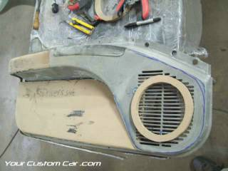 build custom door panels impala ss caprice