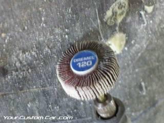 dremel tool flap sanding wheel