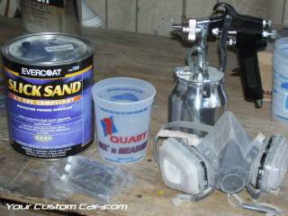 evercoat slick sand primer gun