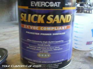 Evercoat Slick Sand