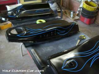 custom door panels, custom paint graphics