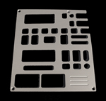 91, 92, chevrolet, gmc, radio plate with cassette, equalizer, 2 windows, empire rd3-2p