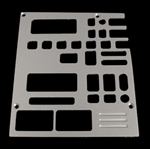 91, 92, chevrolet, gmc, radio plate with cassette, equalizer, 2 windows, empire rd4-2p
