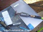 truck bed stake hole shave, make filler plates