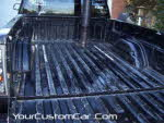 prep truck bed for rhino liner