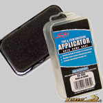 tire shine applicator, tire shine sponge, dressing applicator, interior shine applicator, interior shine pad