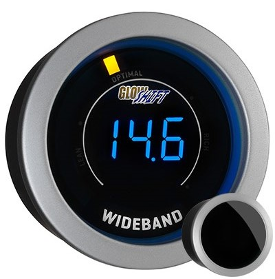 tinted, wide band air fuel ratio gauge, wideband air fuel ratio gauge, black afr gauge, led afr gauge, wide band afr gauge
