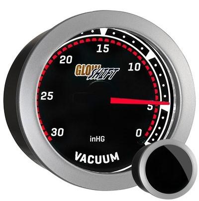 tinted, black face vacuum gauge, led vacuum pressure gauge, vacuum press gauge, vacuum pressure gauge