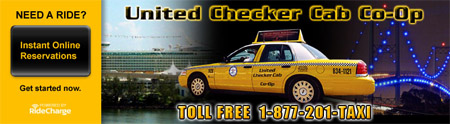 United Checker Cab Co-op. offer taxi cab service to Hawthorne, Gardena, Carson, Torrance & Wilmington