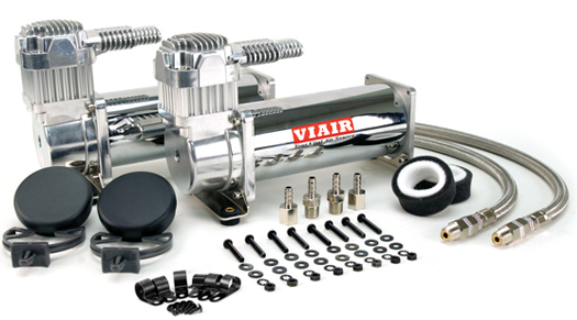 viair 444c, chrome air compressor, dual pack, air bag suspension compressor, air system, on board air, 12 volt air compressor, best air compressor