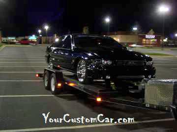 Custom Impala on Trailer