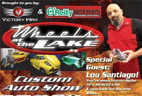 Wheels at the Lake Car Show