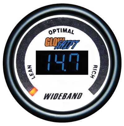wide band air fuel ratio gauge, wideband air fuel ratio gauge, white afr gauge, led afr gauge, wide band afr gauge