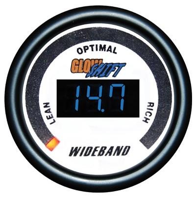wide band air fuel ratio gauge, wideband air fuel ratio gauge, white afr gauge, led afr gauge, wide band afr gauge