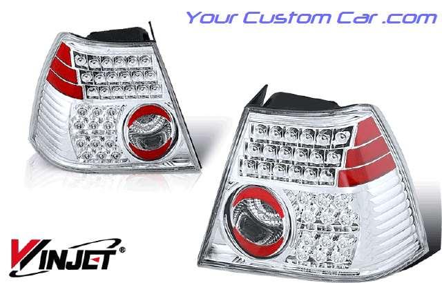 99, 00, 01, 02, vw, volkswagen jetta led taillights, jetta lights, custom jetta, volkswagen jetta led