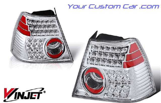 99, 00, 01, 02, vw, volkswagen jetta led taillights, jetta lights, custom jetta, volkswagen jetta led