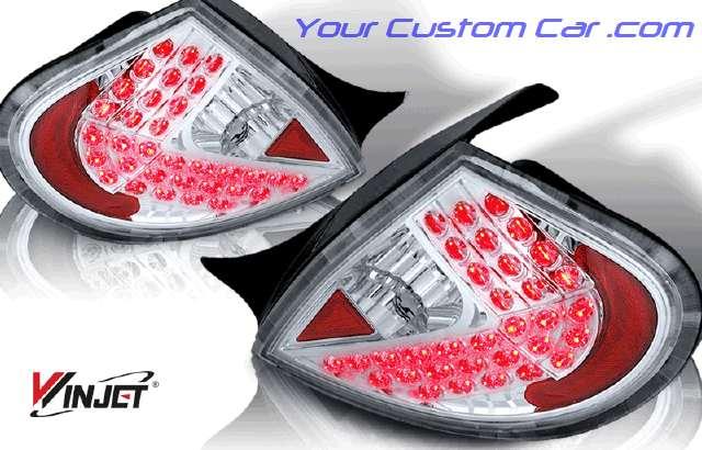 00, 01, 02, dodge neon led taillights, neon lights, custom neon, dodge neon led