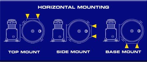 AccuAir Exo Mount Diagram