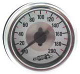air, gauge, 200, psi, single, needle, air suspension, airlift