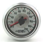 air, bag, suspension, gauge, single, dual, needle, needles, illuminated, viair, air lift, easystreet