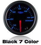 black car gauge, 7 color led, custom gauge