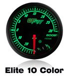 black elite gauge, 10 color