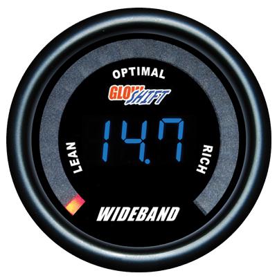 wide band air fuel ratio gauge, wideband air fuel ratio gauge, black afr gauge, led afr gauge, wide band afr gauge
