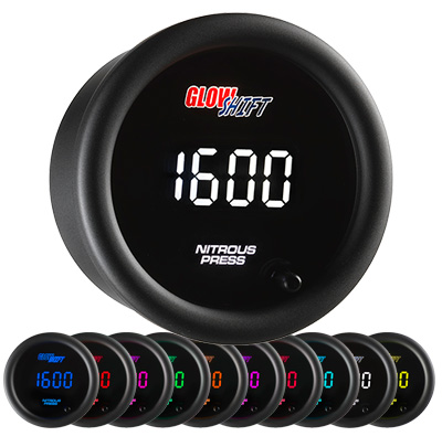 digital nitrous pressure gauge, nitrous gauge, nitreo gauge, nos gauge