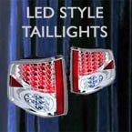 custom taillights, led taillights, tail, lights, led, bulbs, custom car lights