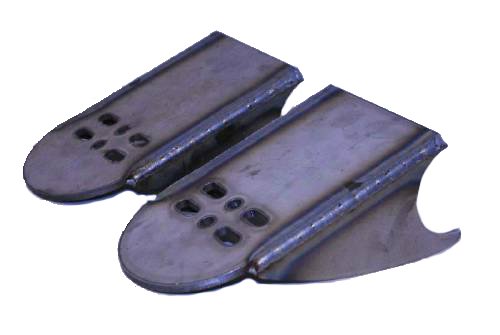 behind axle bracket, air bag bracket, air suspension, 4 link, four, minitruck air, 2500, 2600, 3 inch