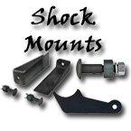 shock relocating kit, shock tab, shock stud, air ride suspension kit, air suspension, chevy, truck