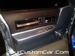 custom impala ss door panel, fiber glass door panel, 96 impala