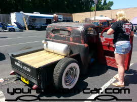 custom ratrod, friends in low places, car show