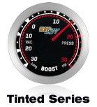red performance gauge, car gauge, custom gauge