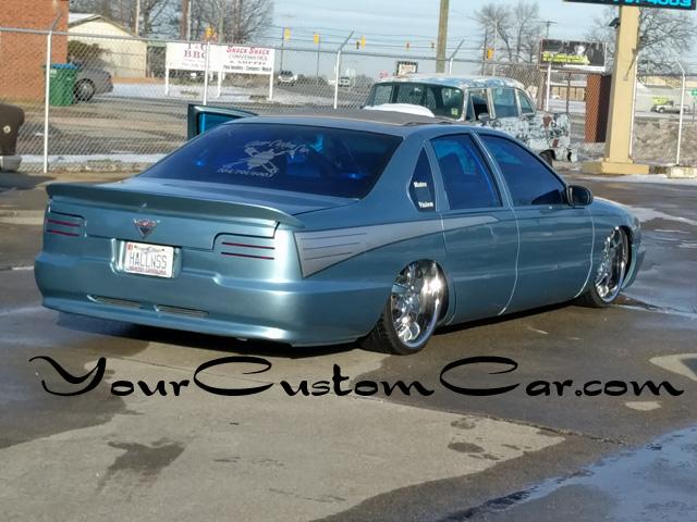 impala ss air bag suspension, custom paint impala, slammed impala ss